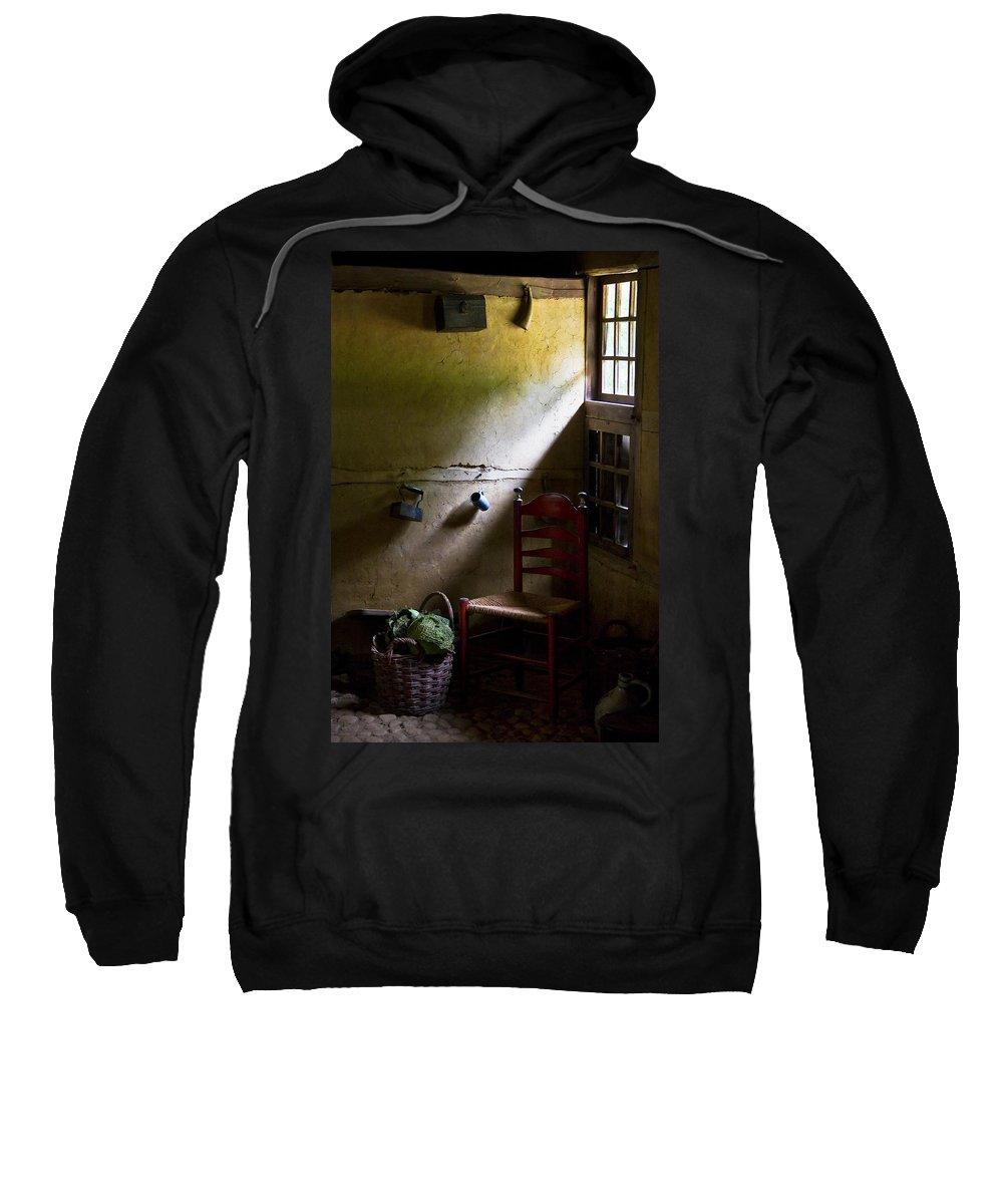 Dutch Kitchen Sweatshirt featuring the photograph Kitchen Corner by Dave Bowman