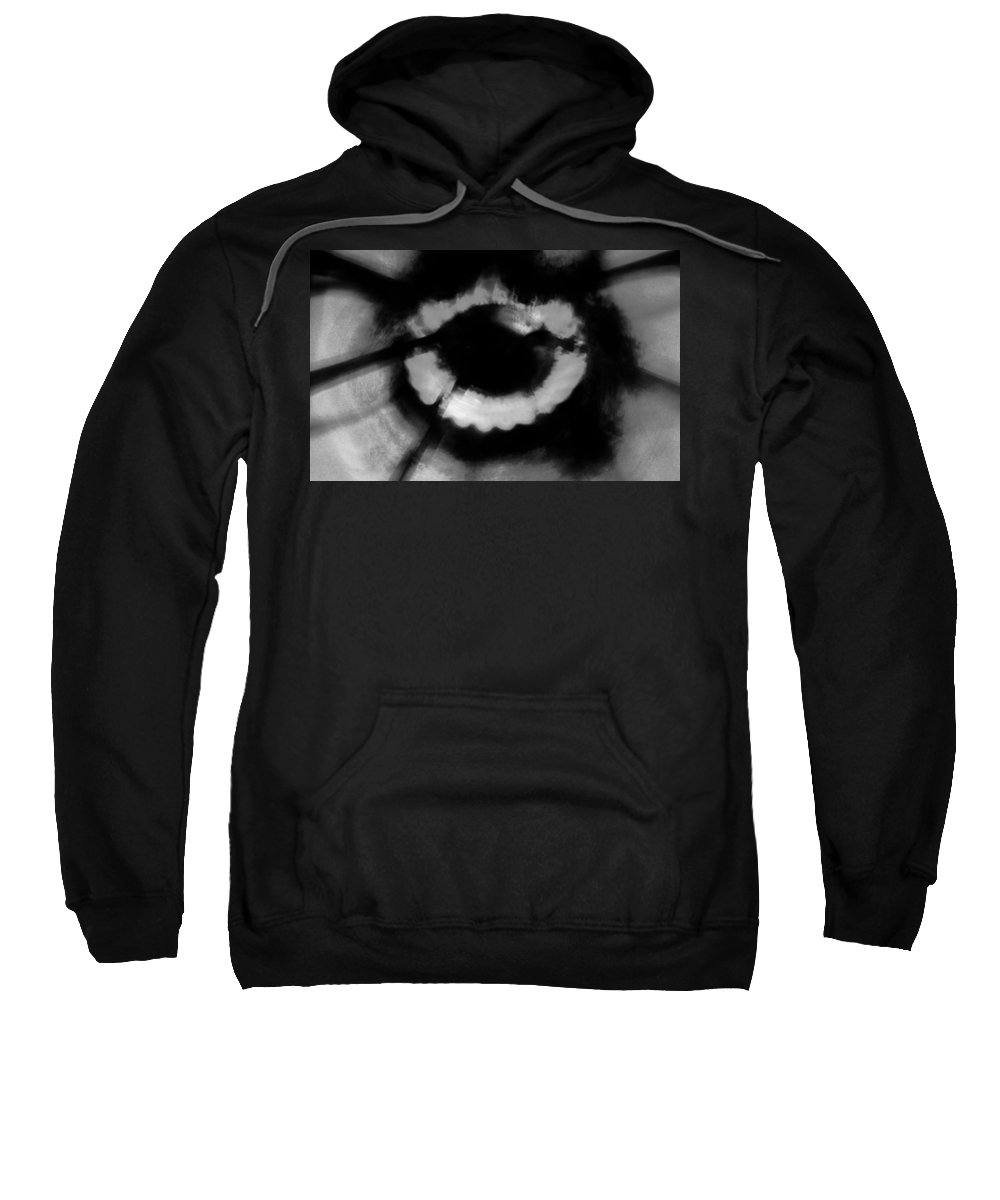 Black Sweatshirt featuring the photograph Kitchens Have Eyes by Jessica Shelton