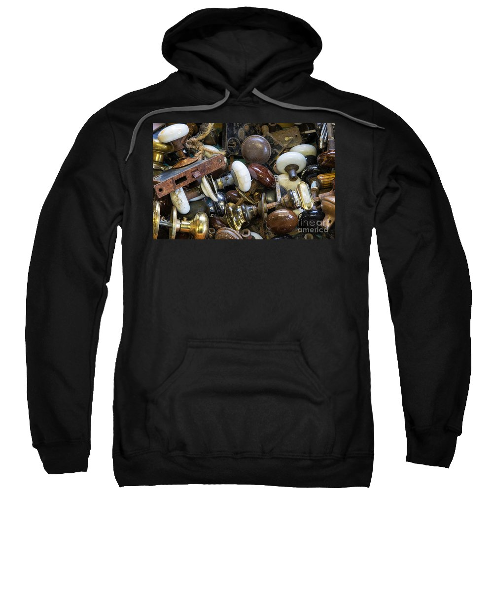 Antique Sweatshirt featuring the photograph Knobs by John Greim