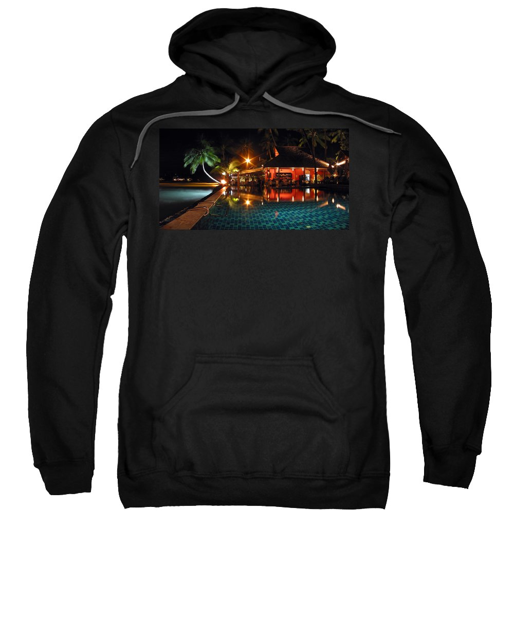 3scape Sweatshirt featuring the photograph Koh Samui Beach Resort by Adam Romanowicz