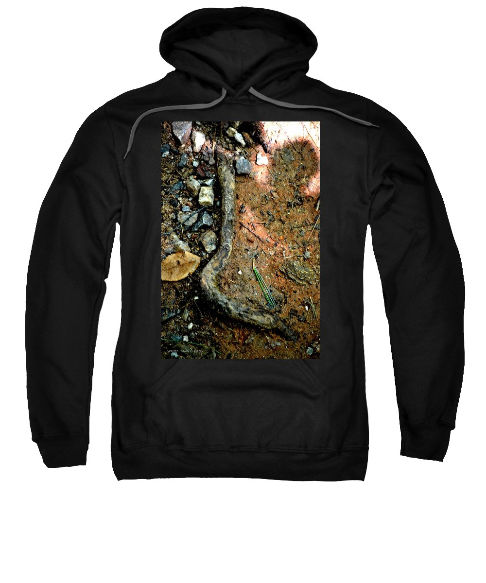 L Sweatshirt featuring the photograph L by Tara Potts