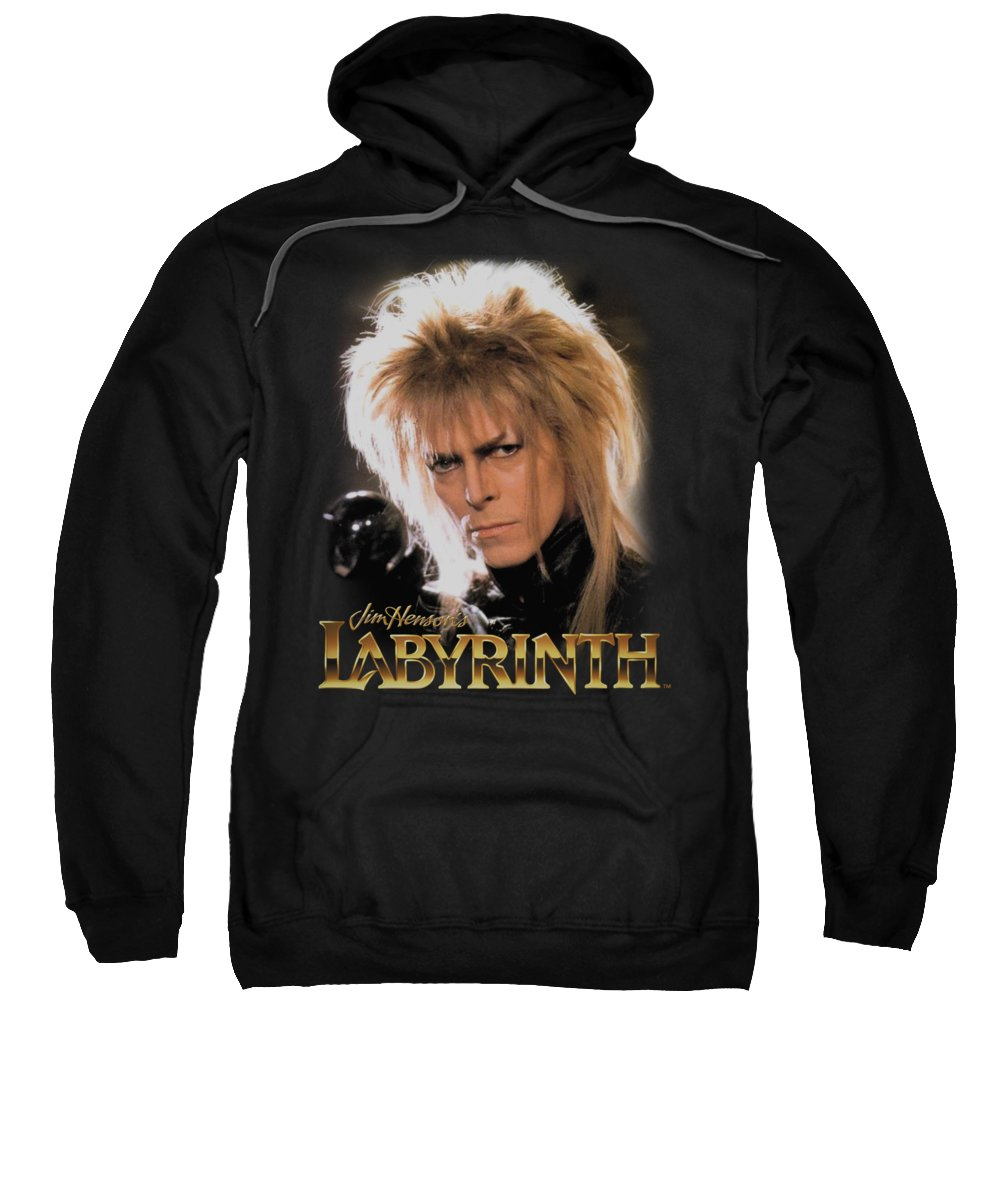 Labyrinth Sweatshirt featuring the digital art Labyrinth - Jareth by Brand A