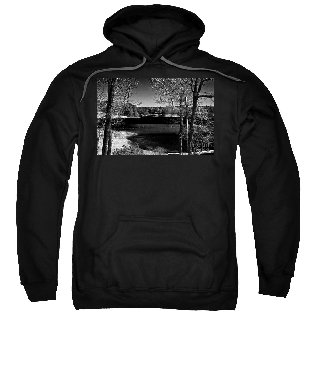 Hodges Gardens Sweatshirt featuring the photograph Lake View by Ken Frischkorn