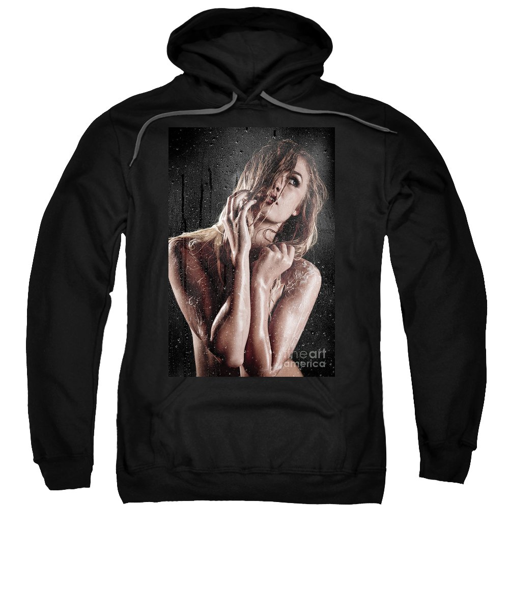 Art Sweatshirt featuring the photograph Lather Up by Jt PhotoDesign