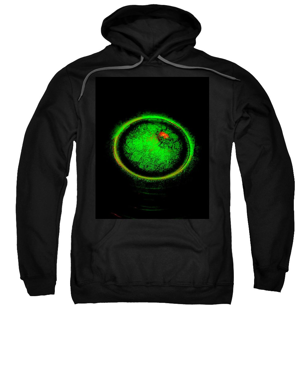 Planets Sweatshirt featuring the photograph Life Begins by Tim G Ross