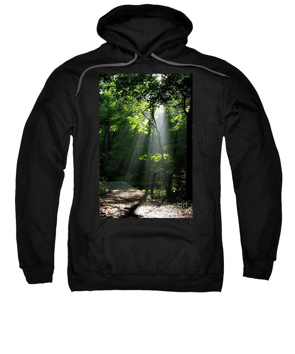 Light Sweatshirt featuring the photograph Light by Douglas Stucky