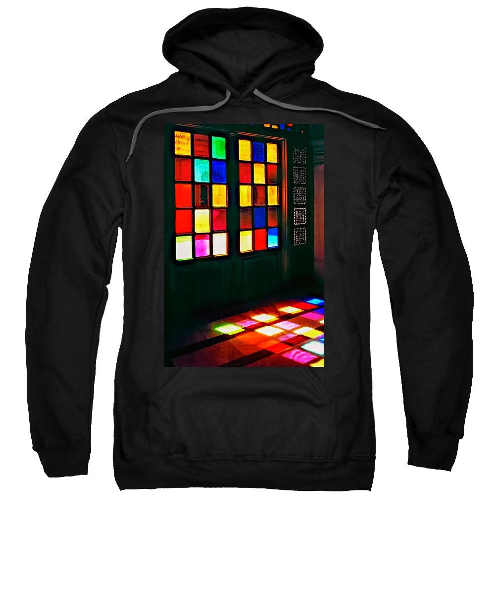Doors Sweatshirt featuring the photograph Light Entrance by Steve Harrington