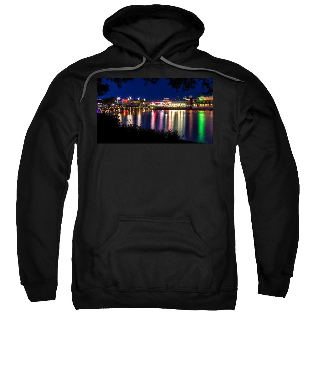 Architecture Sweatshirt featuring the photograph Light Through The Trees by Rob Sellers