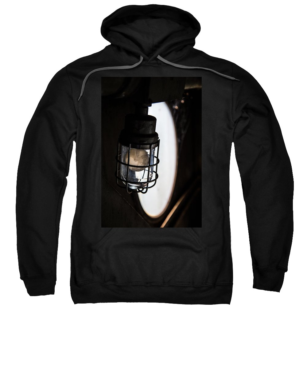 Light Sweatshirt featuring the photograph Lighted Way by Karol Livote