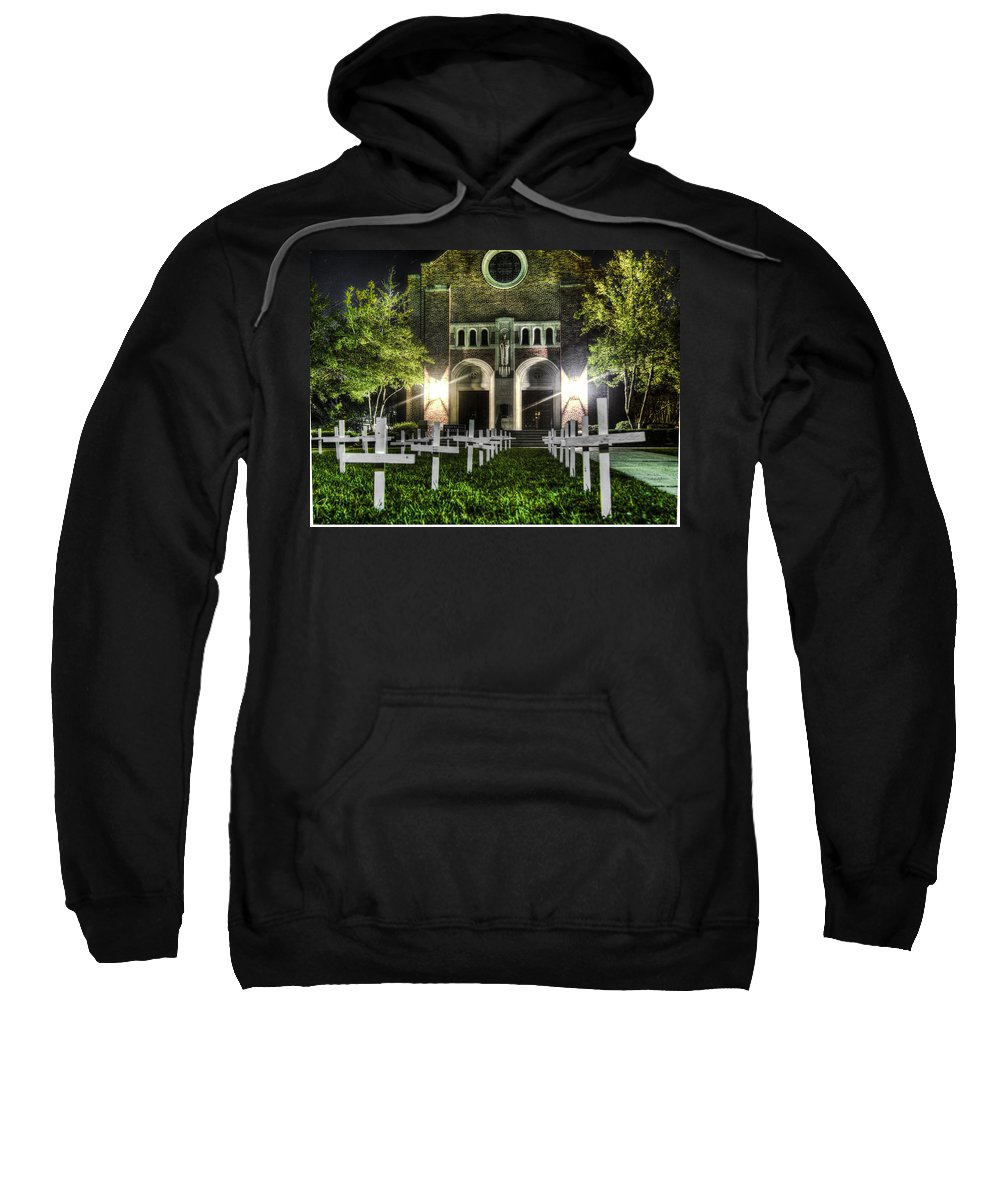 St Peters Sweatshirt featuring the photograph Little Ones Lost by Tony Tribou