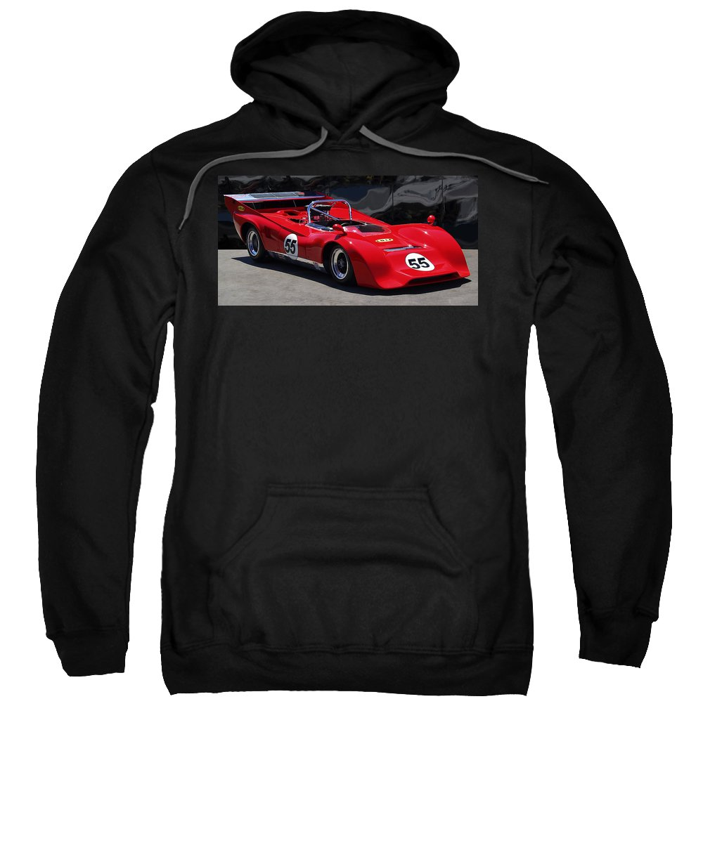 Lola Sweatshirt featuring the photograph Lola Chevrolet by Dominic Piperata