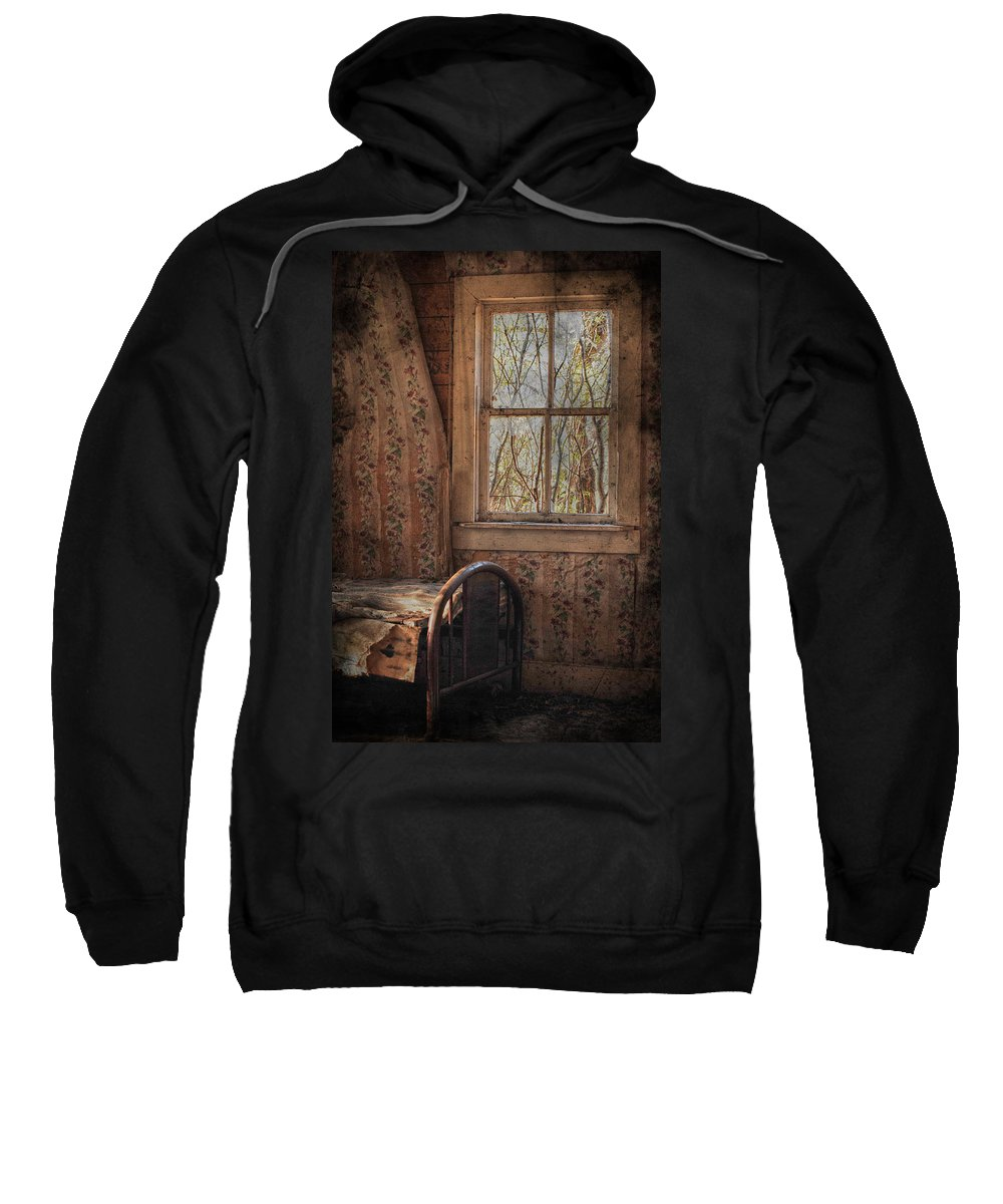 Country Sweatshirt featuring the photograph Lonely Room by The Artist Project