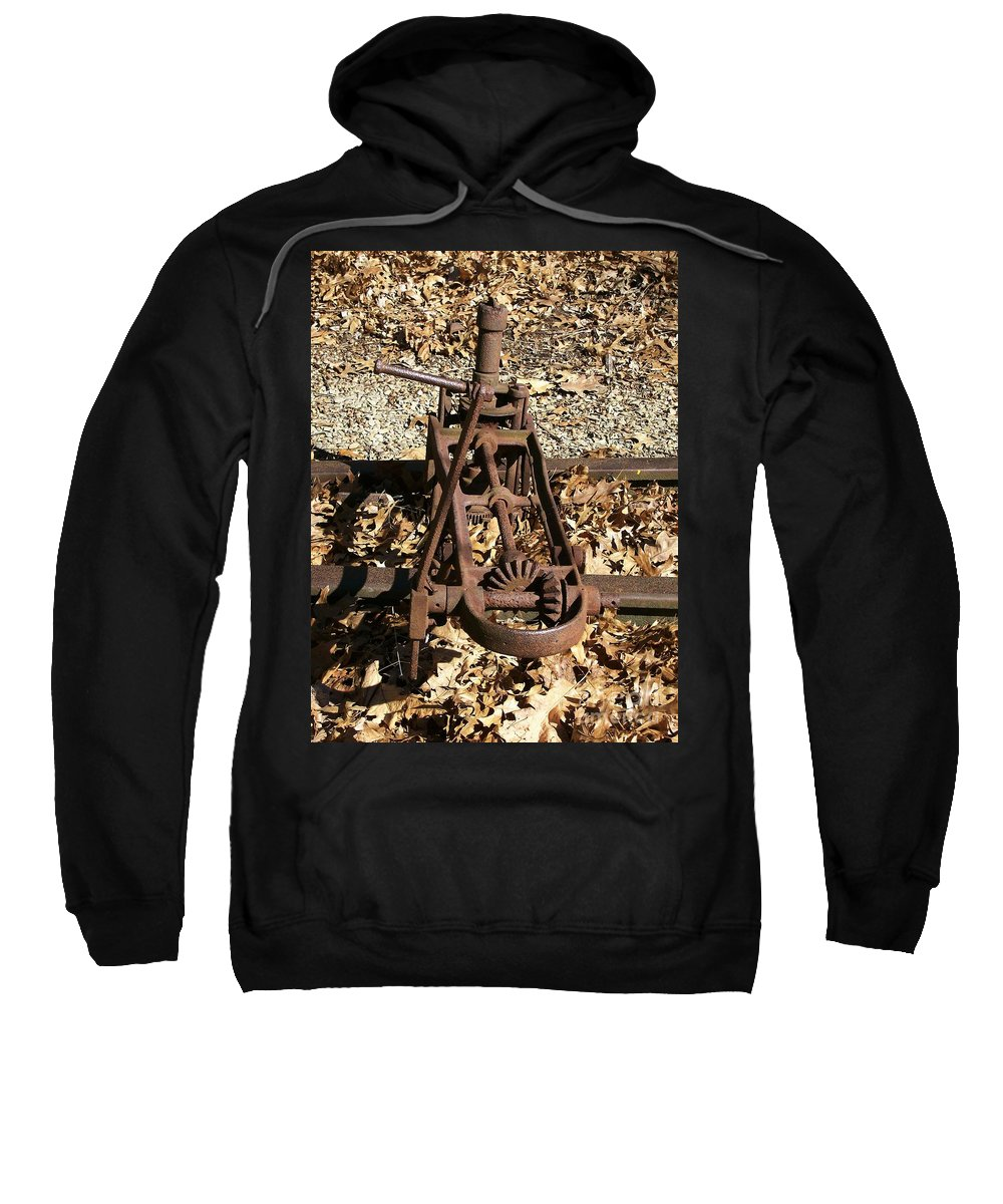 Railroad Sweatshirt featuring the photograph Long Forgotten by Sara Raber