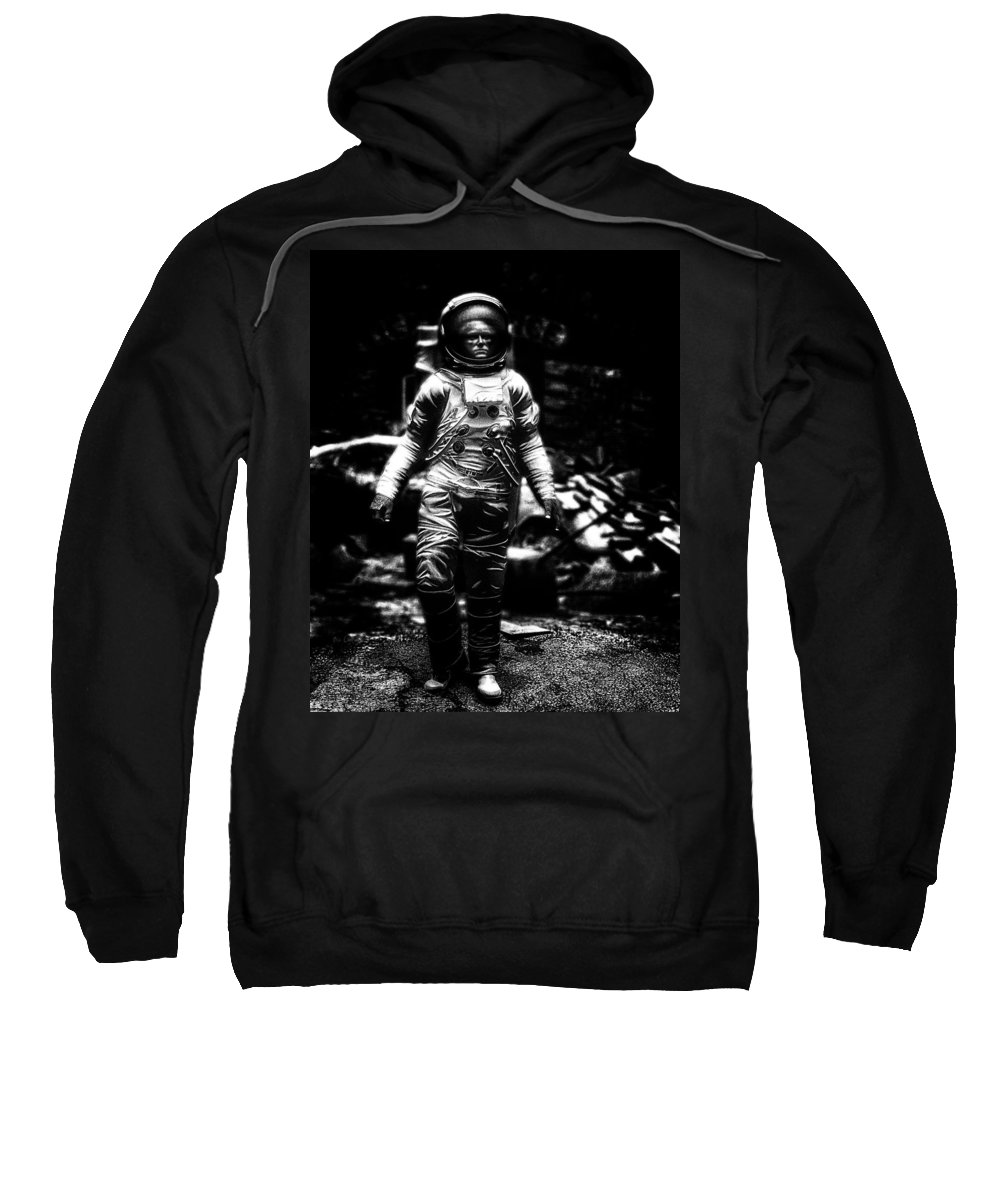 Astronaut Sweatshirt featuring the photograph Long Time Gone by Bob Orsillo
