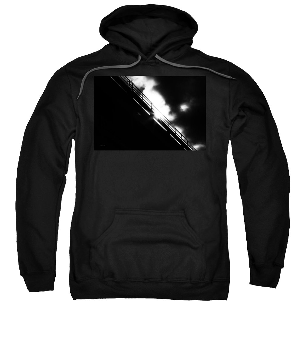 Abstract Sweatshirt featuring the photograph Looking At The Sun by Bob Orsillo