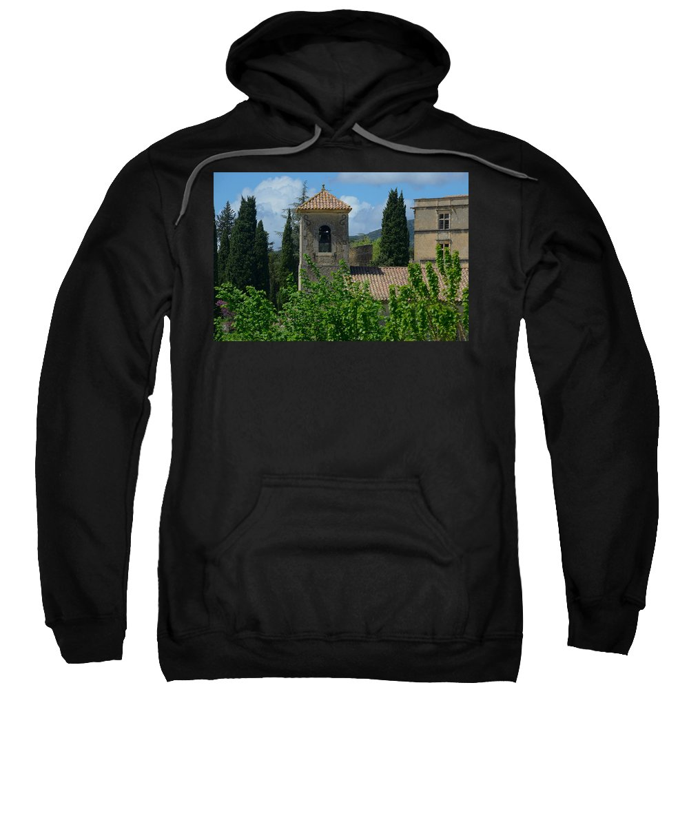 Lourmarin Sweatshirt featuring the photograph Lourmarin Castle In Provence by Dany Lison