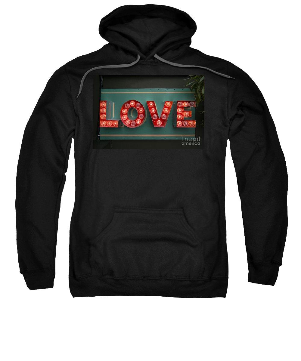 Love Sweatshirt featuring the photograph Love by Rob Hawkins