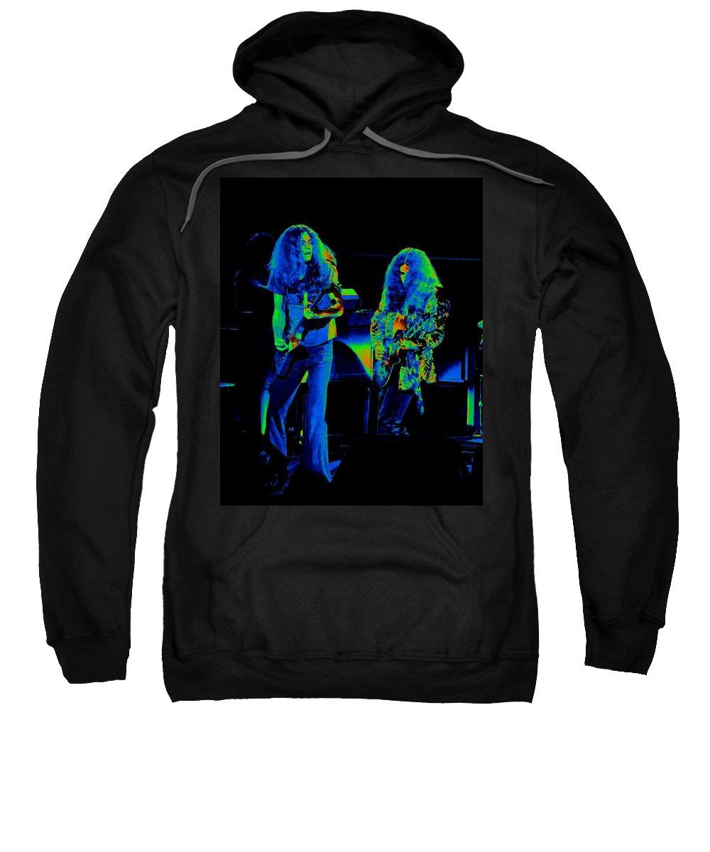 Lynyrd Skynyrd Sweatshirt featuring the photograph Ls Spo #21 Crop 4 In Cosmicolors by Ben Upham III