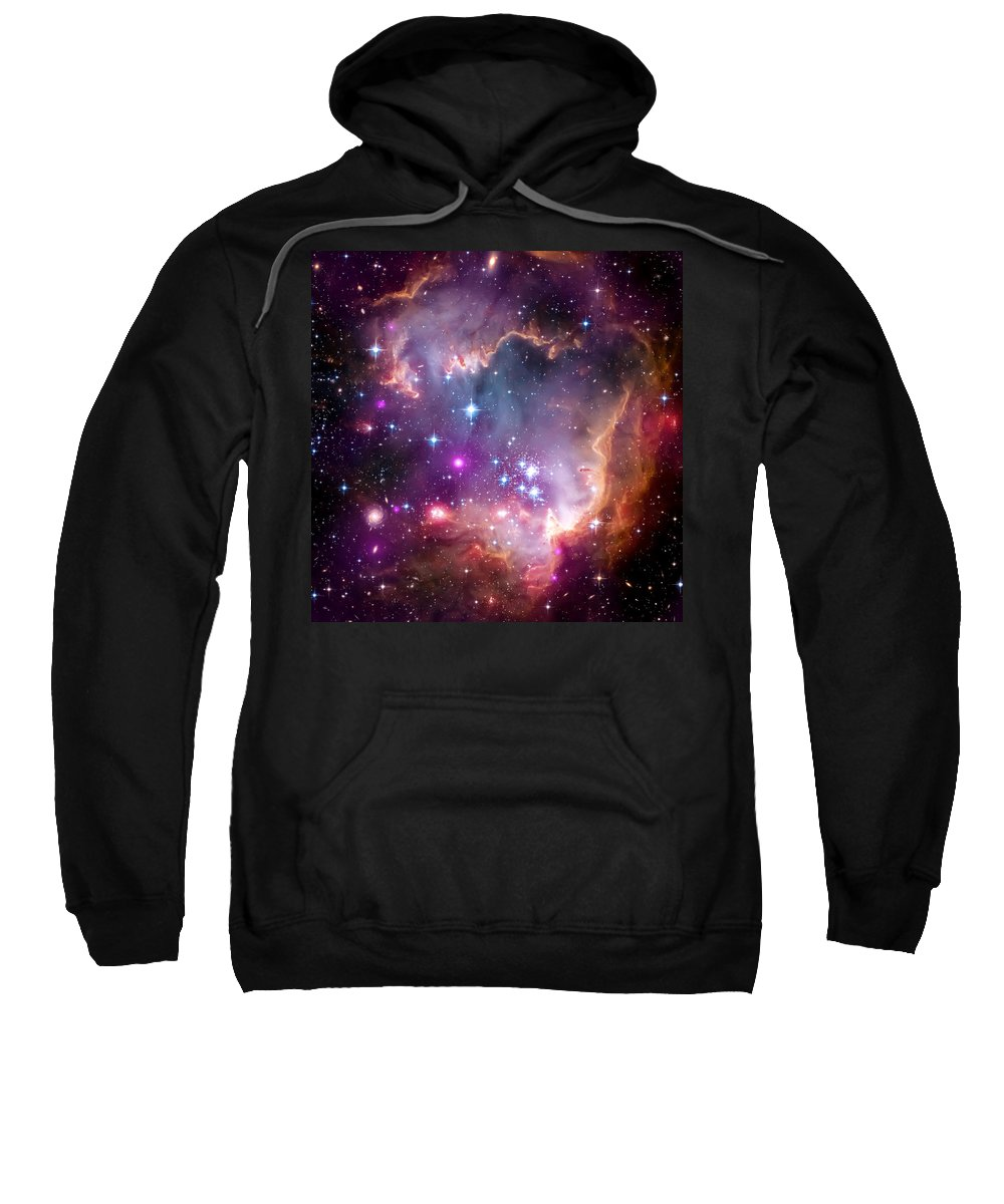 Universe Sweatshirt featuring the photograph Magellanic Cloud 3 by Jennifer Rondinelli Reilly - Fine Art Photography