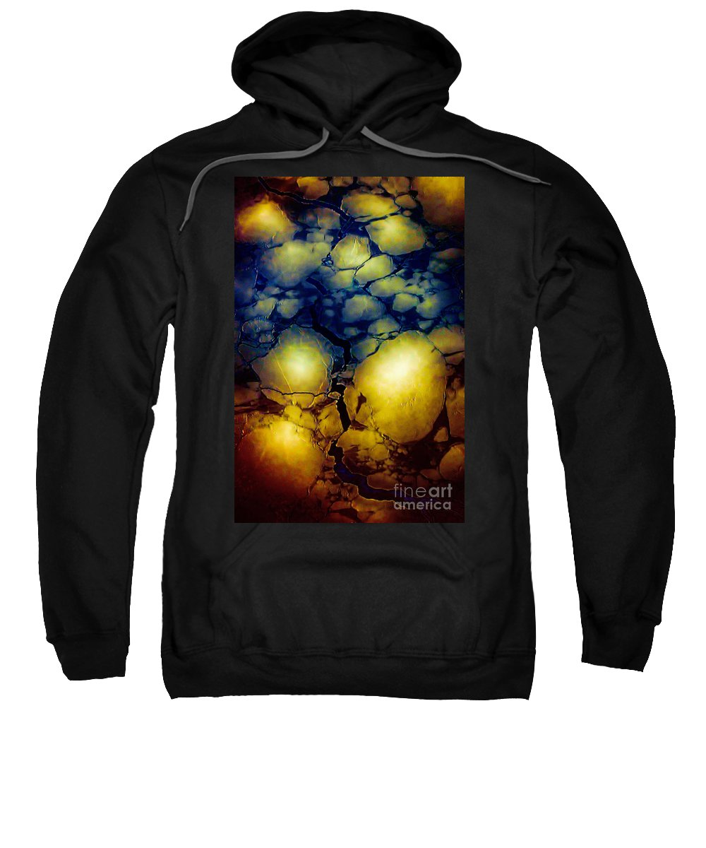 Hudson Bay Sweatshirt featuring the photograph Magical Yellow 5 by Karla Weber