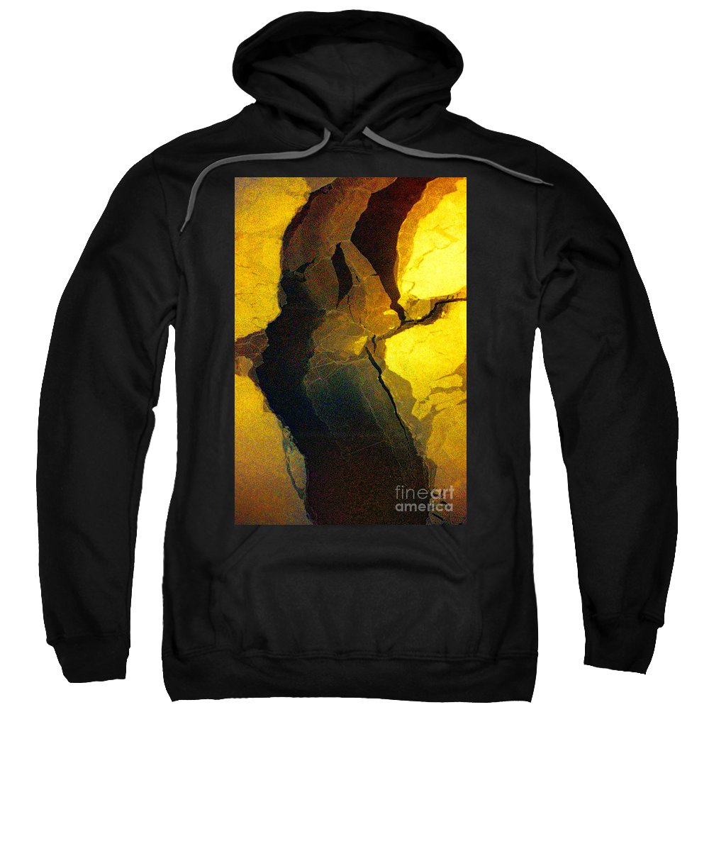 Hudson Bay Sweatshirt featuring the photograph Magical Yellow 6 by Karla Weber