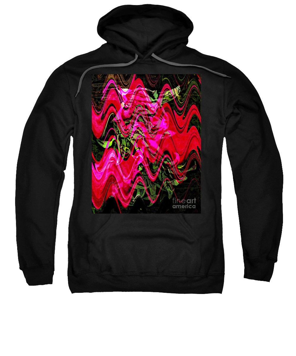 Digital Image Sweatshirt featuring the digital art Magnet by Yael VanGruber