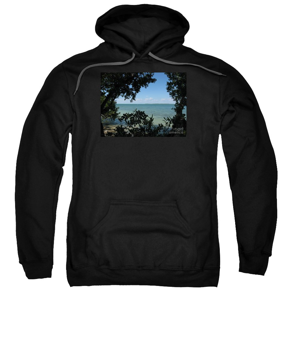 Mangrove Sweatshirt featuring the photograph Mangrove by Christiane Schulze Art And Photography