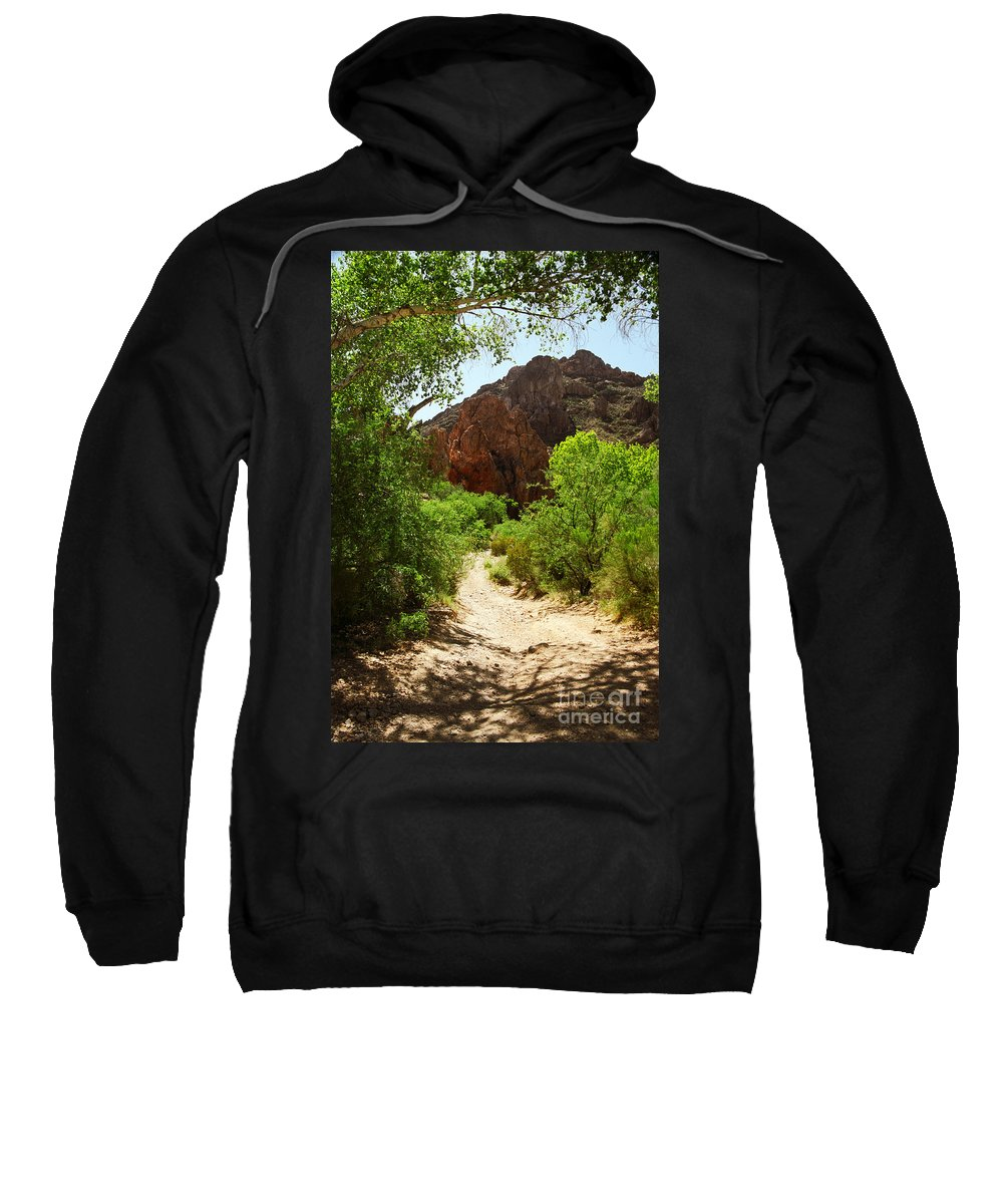 Desert Sweatshirt featuring the photograph Martinez Canyon by Kathy McClure