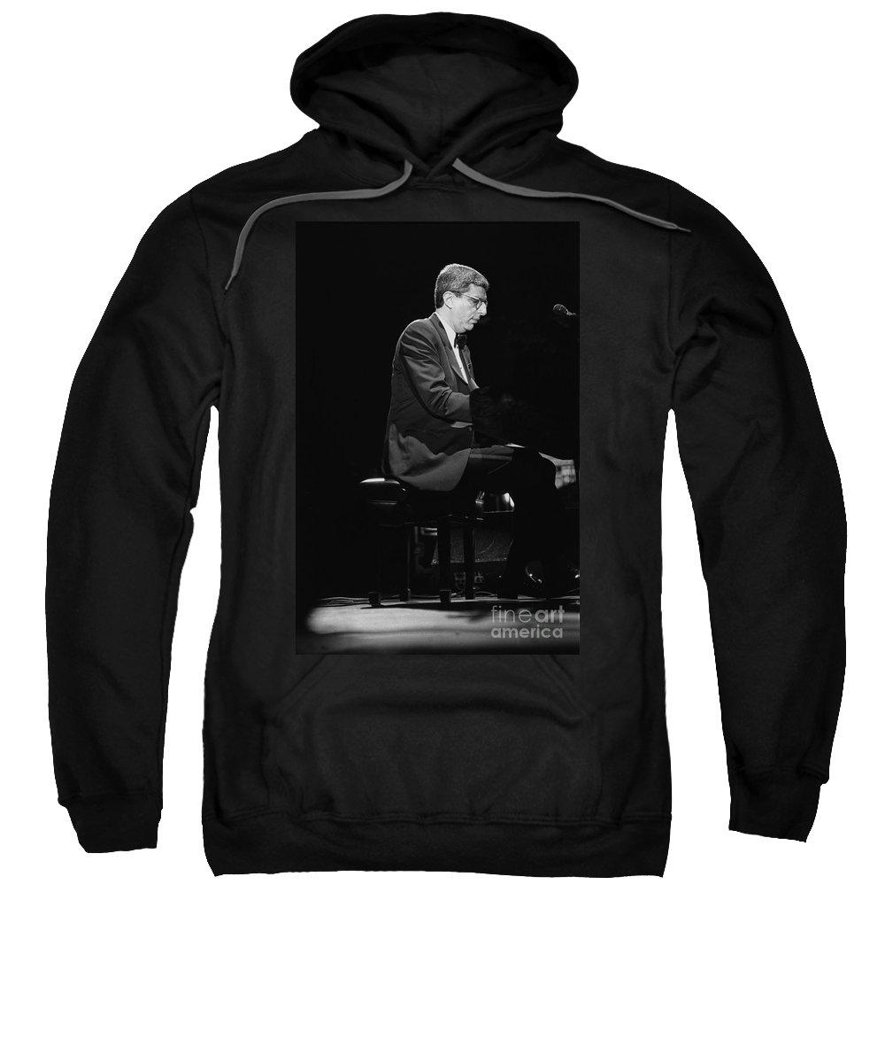 Composer Sweatshirt featuring the photograph Marvin Hamlisch by Concert Photos