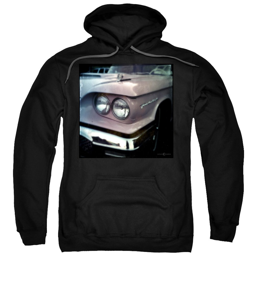 Classic Sweatshirt featuring the photograph Marykay's Thunderbird by Tim Nyberg