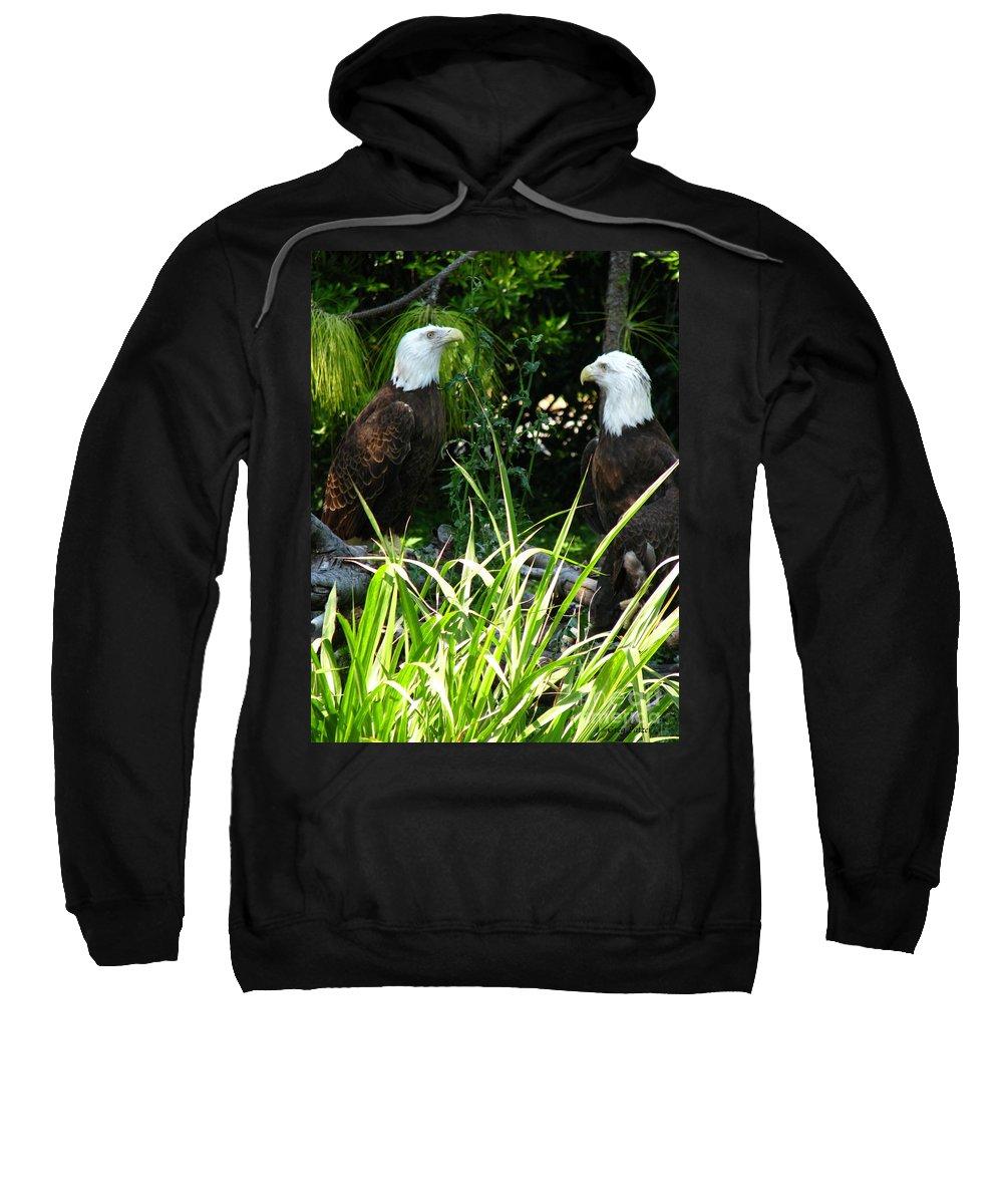 Patzer Sweatshirt featuring the photograph Mates by Greg Patzer
