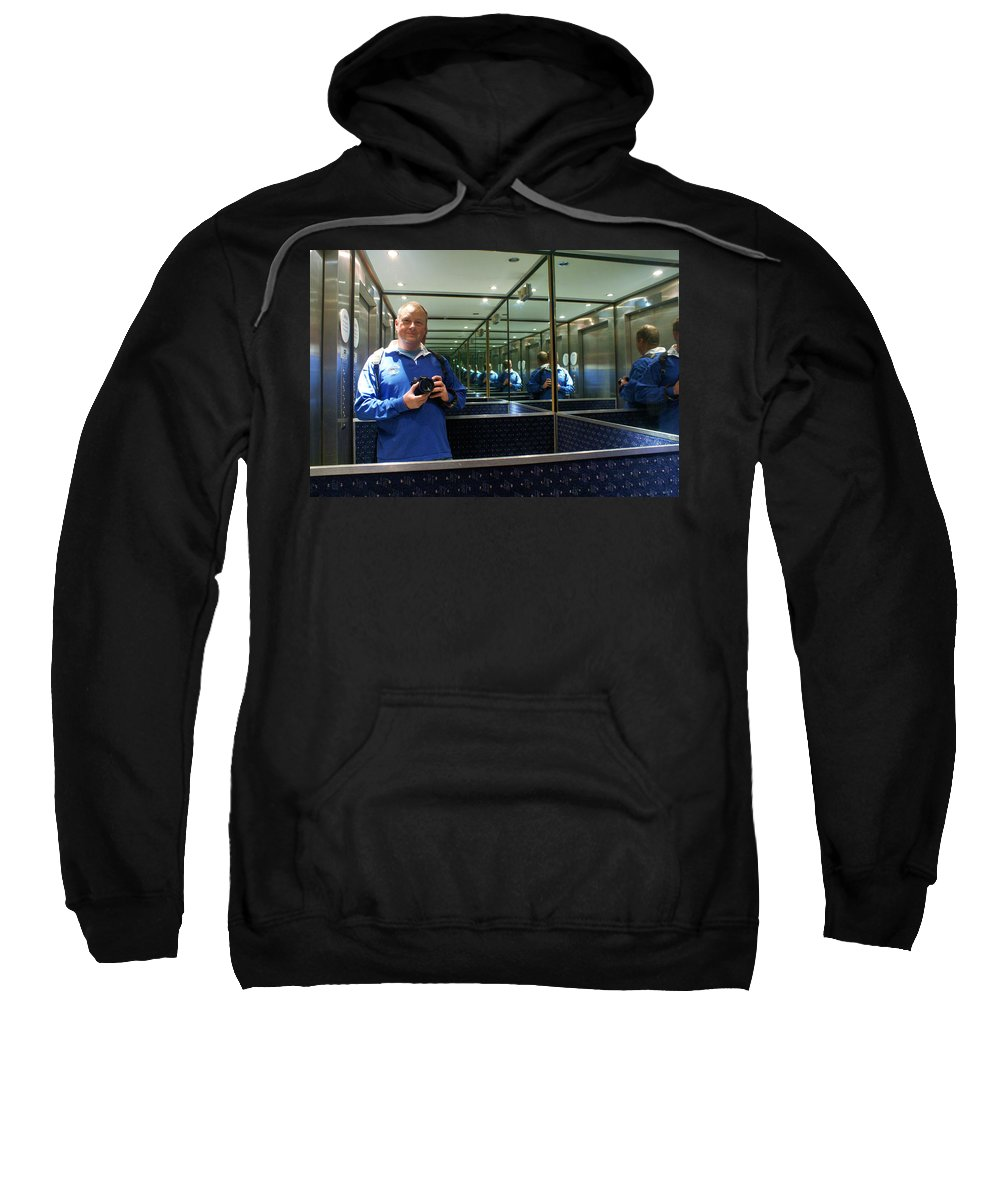Lift Sweatshirt featuring the photograph Me And Me And Me by Ron Harpham