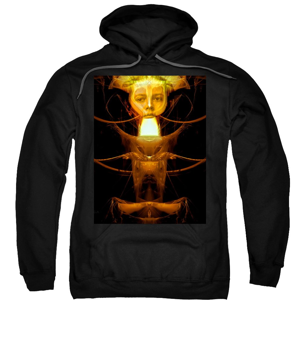 Metamorphosis Sweatshirt featuring the photograph Metamorphosis by Bob Orsillo
