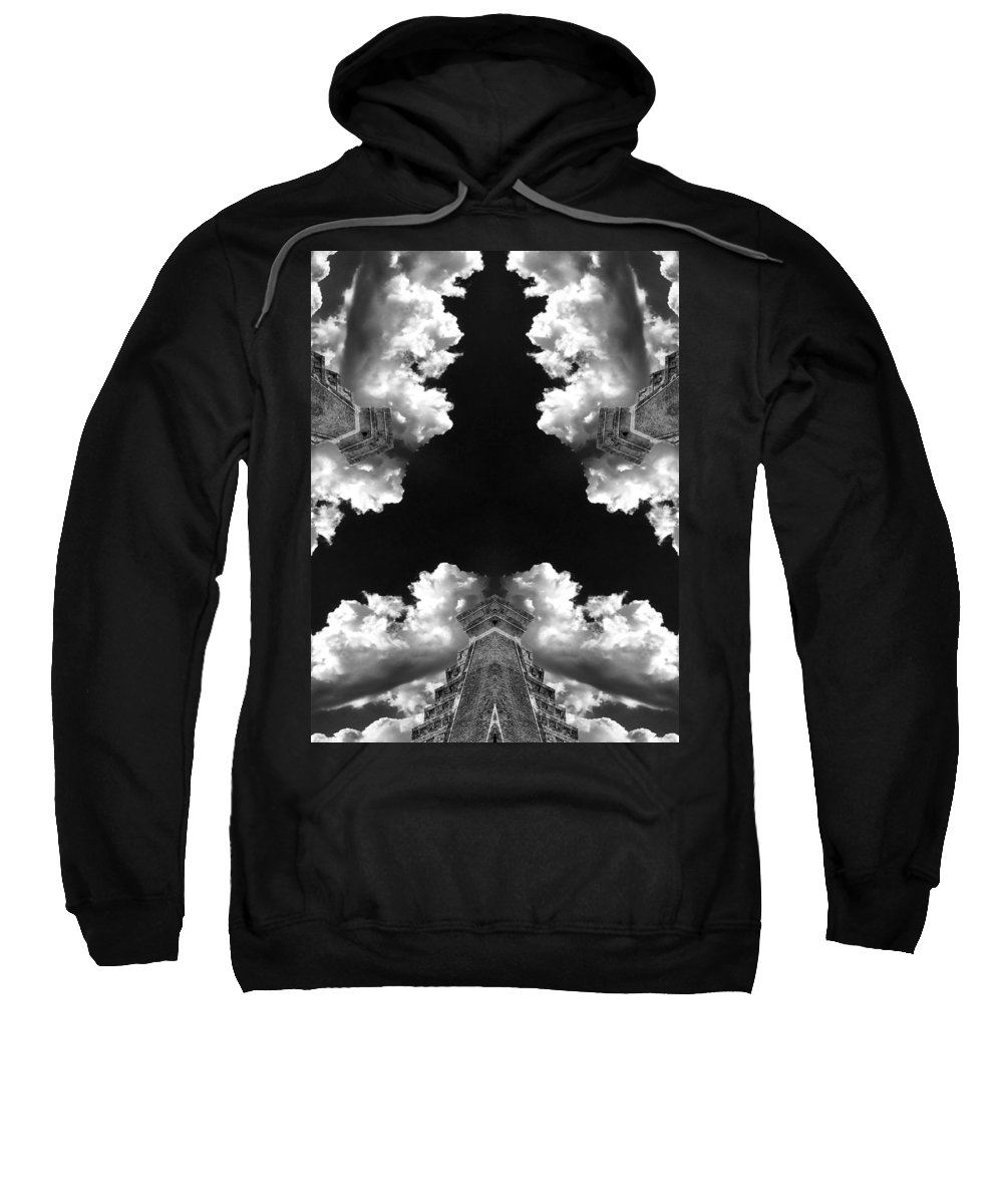 City Sweatshirt featuring the photograph Metropolis by Dominic Piperata