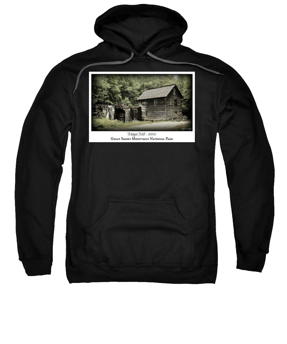 Mingus Mill Sweatshirt featuring the photograph Mingus Mill - Color Poster by Stephen Stookey