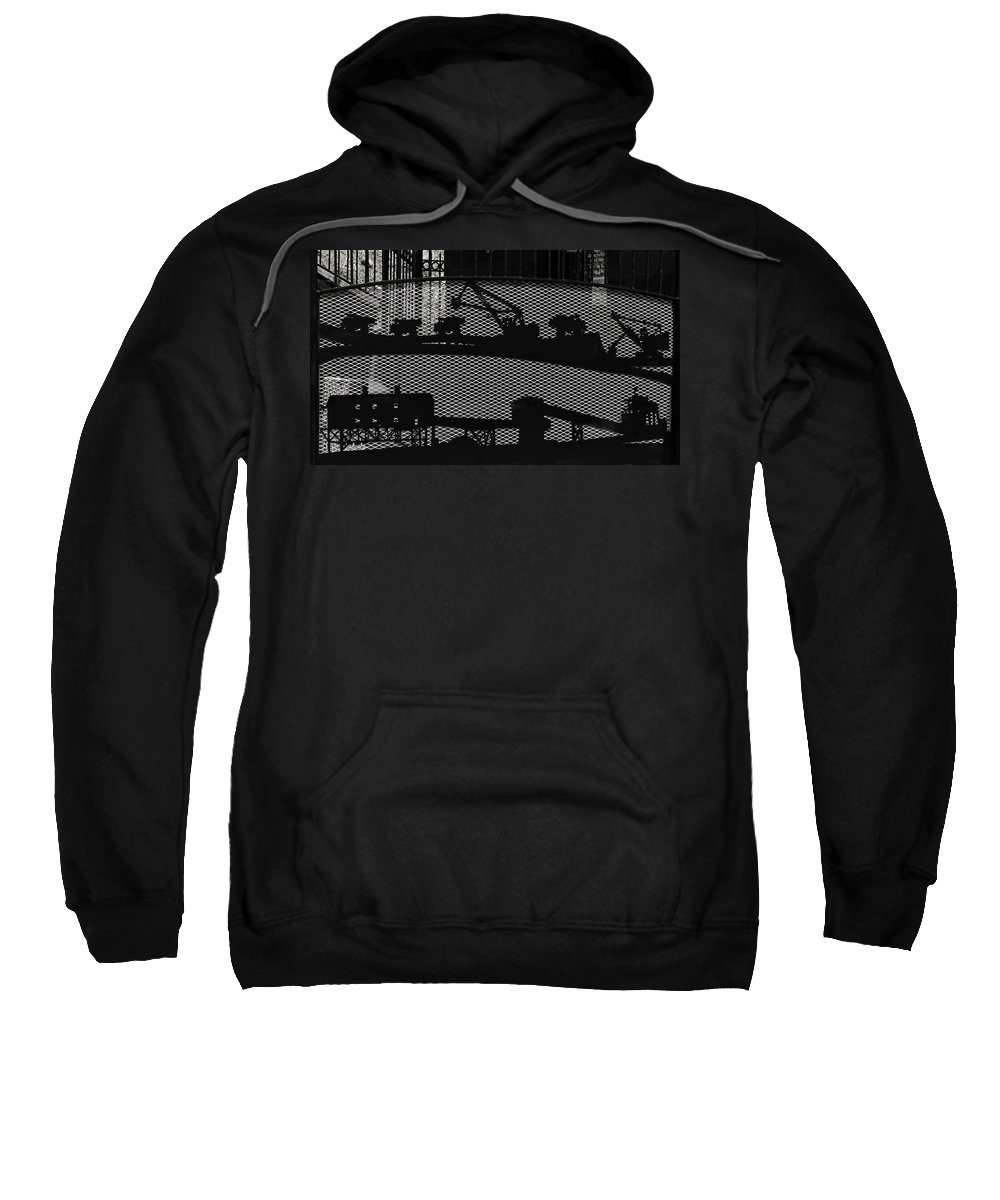 Butte Sweatshirt featuring the photograph Mining by Image Takers Photography LLC - Carol Haddon