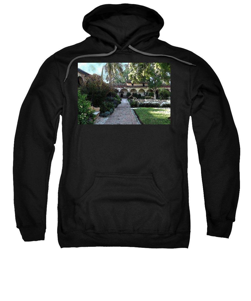 Digital Sweatshirt featuring the digital art Mission 3 by David Hansen