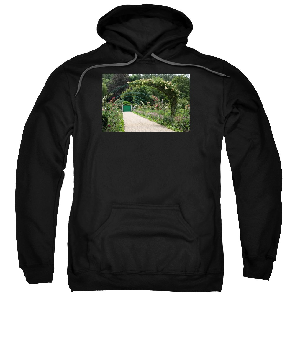 Monet Sweatshirt featuring the photograph Monets Garden - Giverney - France by Christiane Schulze Art And Photography