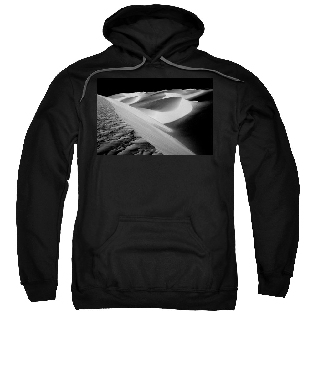 Sand Dunes Sweatshirt featuring the photograph Moon Light Dunes by Paul W Faust - Impressions of Light