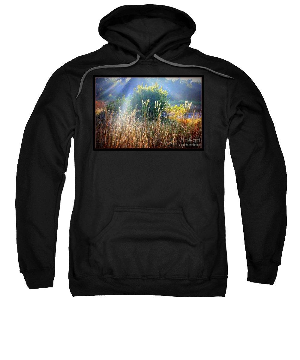 Sunrise Sweatshirt featuring the photograph Morning Glory by Carol Groenen