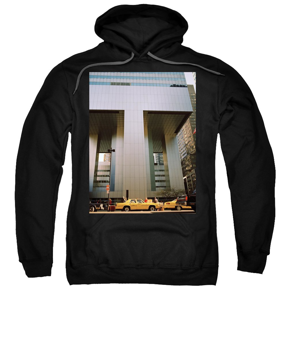 Dawn Sweatshirt featuring the photograph A Beautiful New York Morning by Shaun Higson