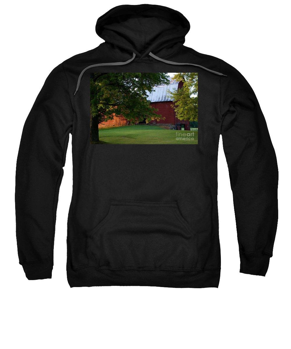 Barn Sweatshirt featuring the photograph Morning Light by Joseph Yarbrough