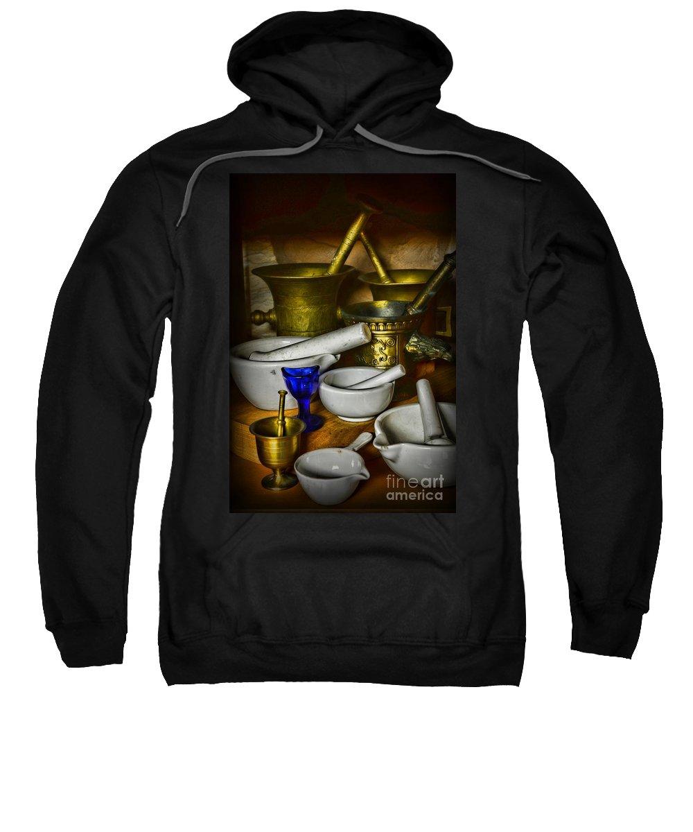 Paul Ward Sweatshirt featuring the photograph Mortars And Pestles by Paul Ward