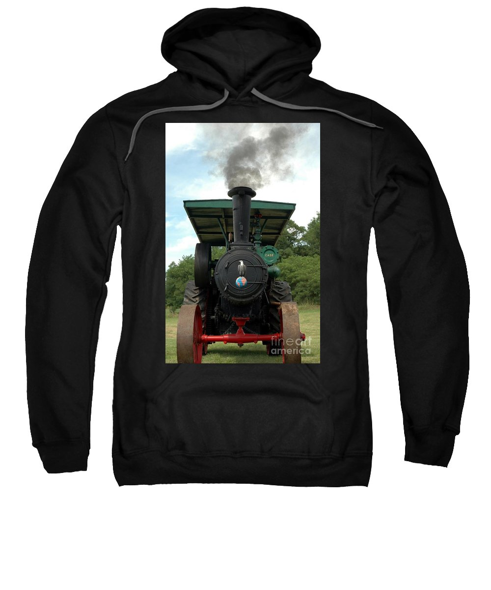 Steam Sweatshirt featuring the photograph Moving Along by Kathleen Struckle