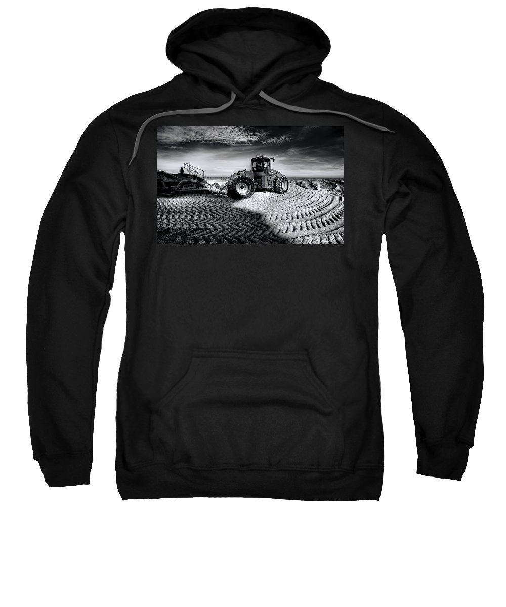 Dredge Sweatshirt featuring the photograph Moving Heaven And Earth by Wayne Sherriff