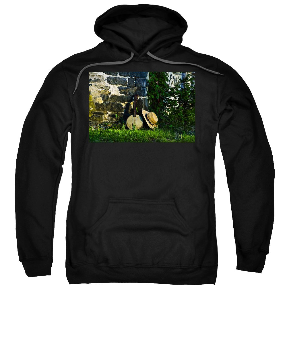 Music In The Morning Sweatshirt featuring the photograph Music In The Morning by Bill Cannon
