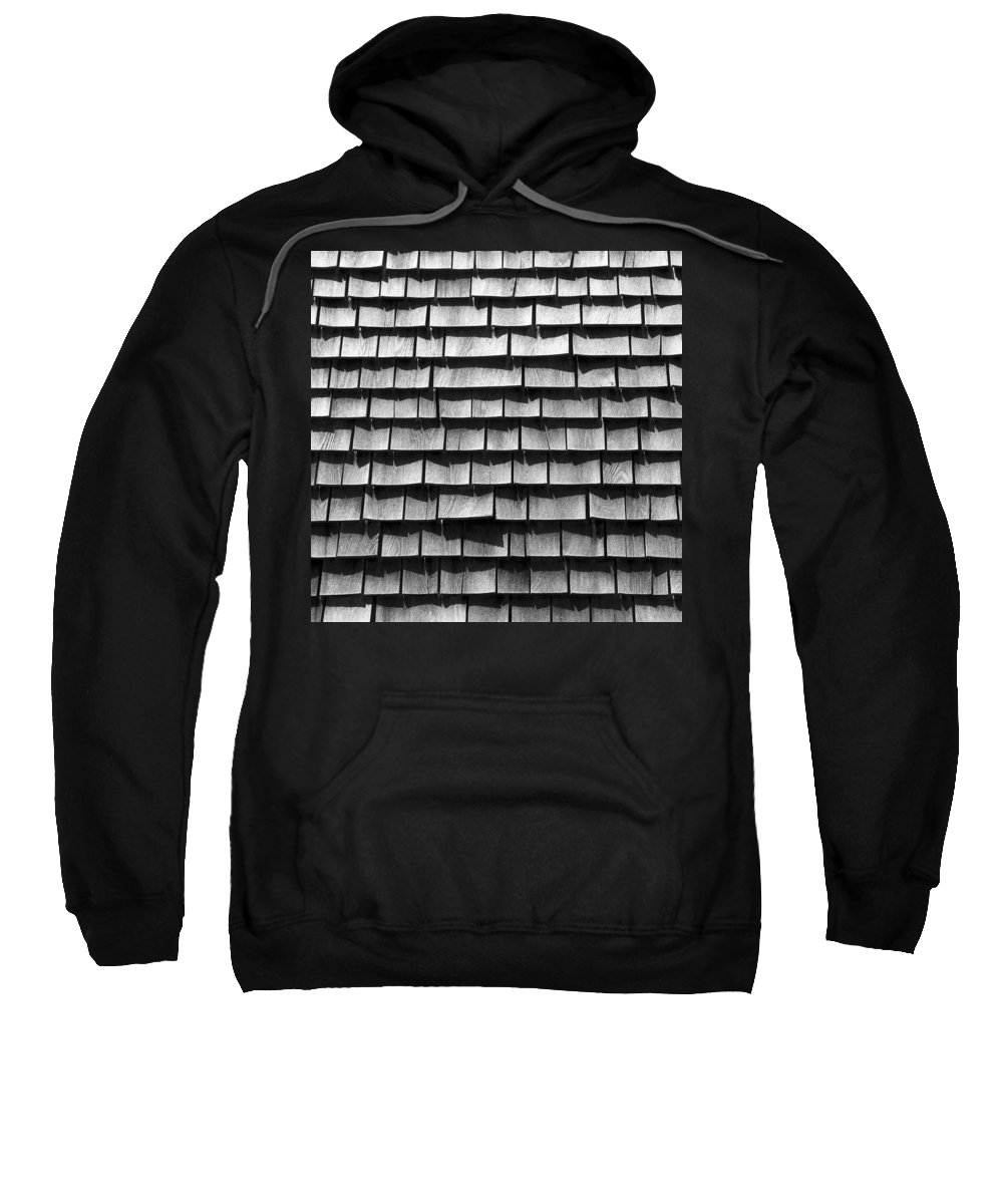 Nantucket Sweatshirt featuring the photograph Nantucket Shingles by Charles Harden