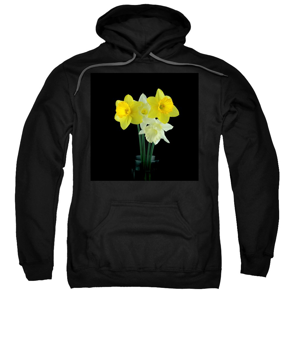 Sweatshirt featuring the photograph Narcissus by Mark Ashkenazi