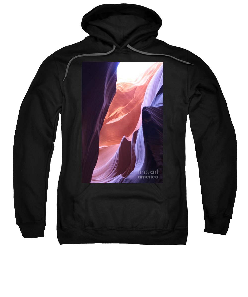 Canyon Sweatshirt featuring the photograph Narrow Canyon Xvi - Antelope Canyon by Christiane Schulze Art And Photography