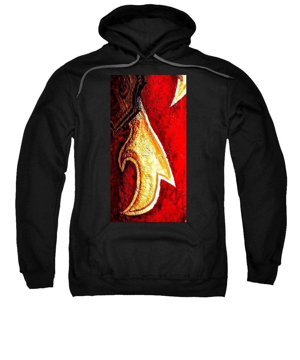 Nashville Sweatshirt featuring the photograph Nashville Bling by Jeff Kurtz